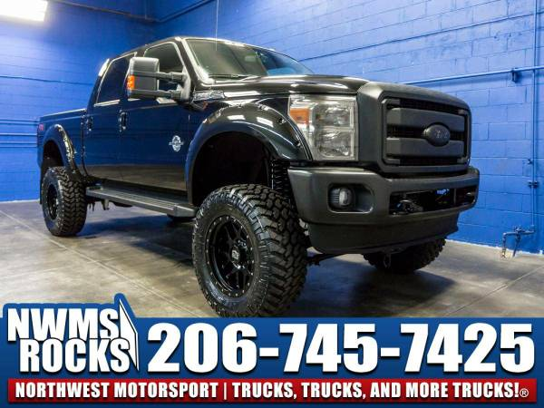 Lifted 2016 *Ford F350* Lariat 4x4 - NAVIGATION! 2016 Ford F-350...