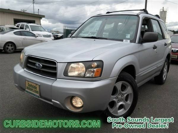 2004 Subaru Forester 4D Sport Utility 2.5XS