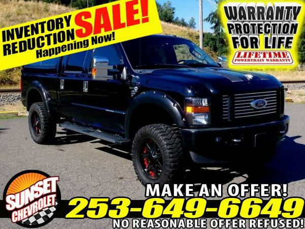 *LIFTED DIESEL* 2010 *Ford Super Duty* F350 SRW 4x4 Truck