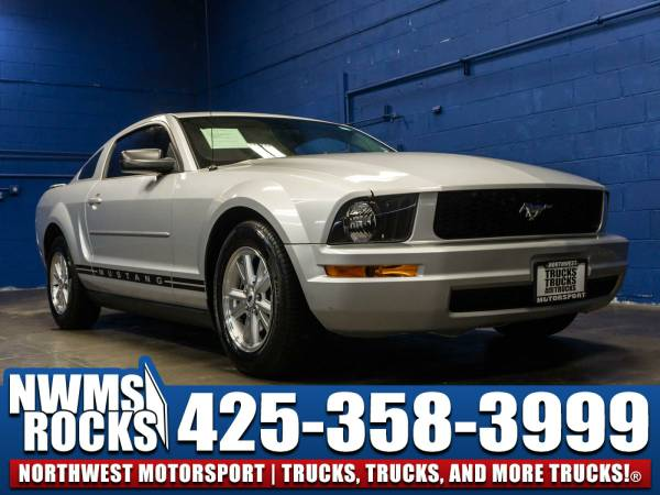 2008 *Ford Mustang* RWD -