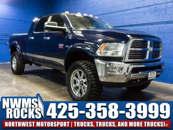 Lifted 2012 *Dodge Ram* 2500 Laramie 4x4 - Navigation! 2012 Dodge Ram