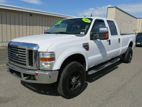 2008 Ford F-350SD 4D Crew Cab XLT
