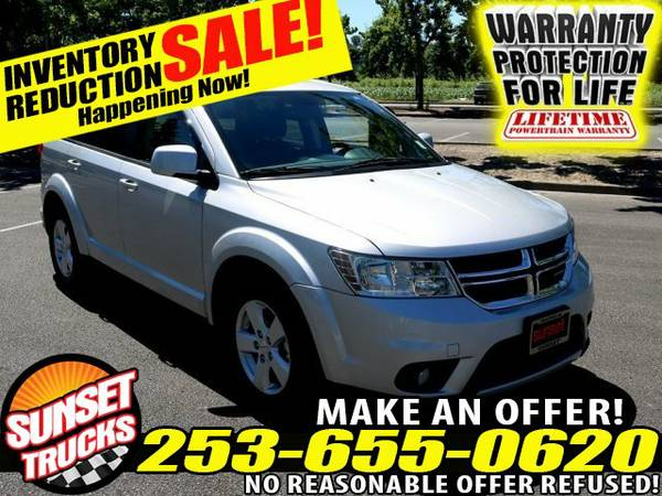 2012 *Dodge* *Journey* SXT AWD V6 3.6L 6-Speed Automatic Station Wagon