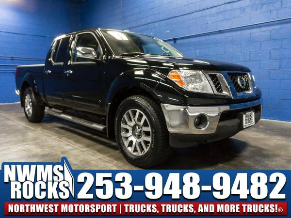 2013 *Nissan Frontier* SL 4x4 - One Previous Owner! 2013 Nissan...
