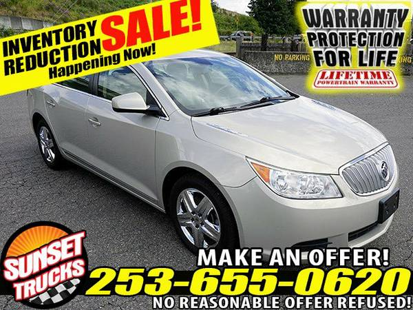 2010 *Buick* *LaCrosse* CX V6 3.0L 6-Speed Automatic w OD Sedan sedans