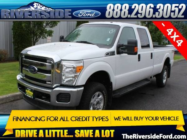 2015 Ford F-350SD 4D Crew Cab
