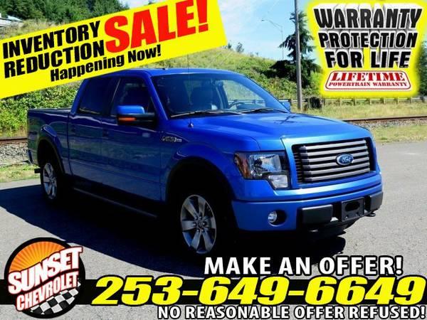 2012 *Ford F150* Lariat V8 5.0L Ford F150 4x4 Truck