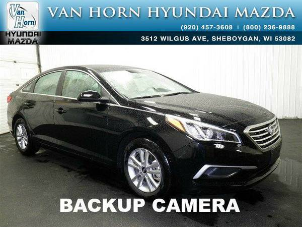 2016 *Hyundai Sonata* SE - Phantom Black BAD CREDIT OK!