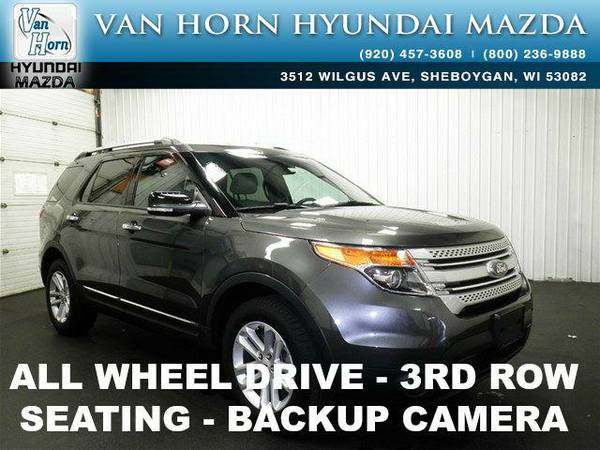 2015 *Ford Explorer* XLT AWD - Magnetic Metallic BAD CREDIT OK!