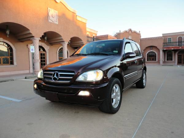 2003 Mercedes-Benz ML500 LEATHER, SUNROOF, PREMIUM PACKAGE, AWD ,NAVI