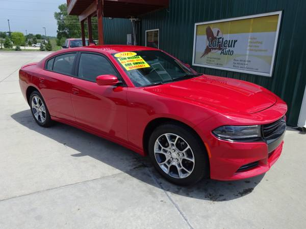 2015 DODGE CHARGER Rallye Pkg, 1 Owner, Factory Warranty, Low Miles!