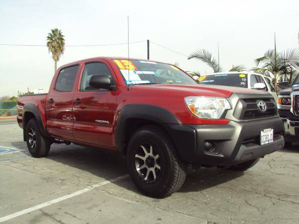 2013 *TOYOTA* *TACOMA* DOUBLE CAB 4 CYLINDERS, $0 DOWN, CALL NOW!