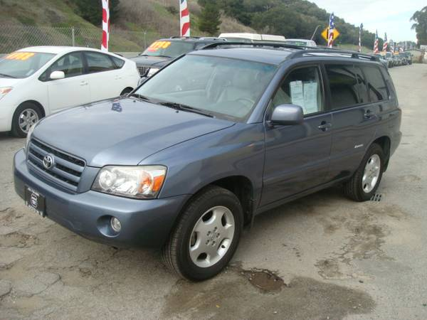 2007 TOYOTA HIGHLANDER LIMITED SUV 4x4 GOOD CONDITION