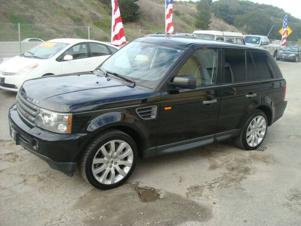 2007 LAND ROVER RANGE ROVER HSE SPORT SUPER NICE 4X4 LOADED
