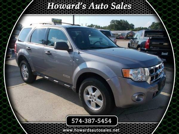 2008 Ford Escape XLT 4WD V6 ** Financing Available Low Miles