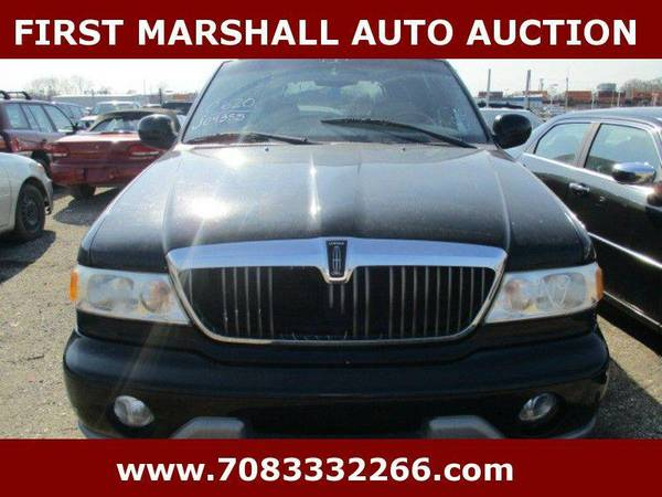 2001 Lincoln Navigator - First Marshall Auto Auction