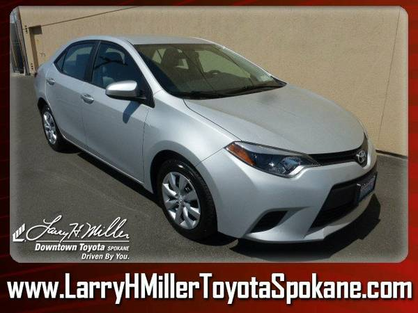 2014 Toyota Corolla LE Classic Silver Metallic Your wallet will love...