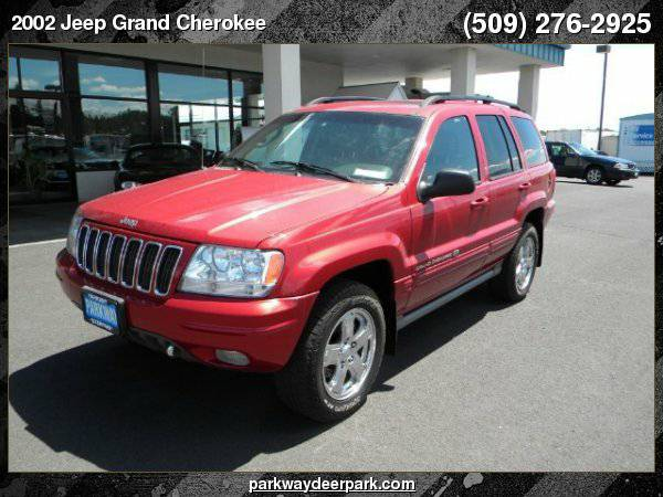 2002 Jeep Grand Cherokee Overland 4WD