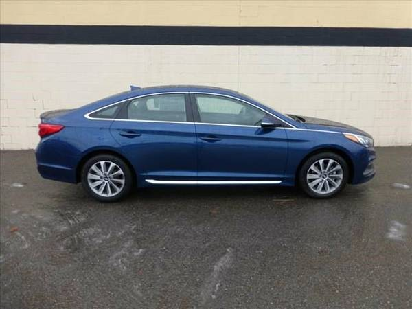 2016 Hyundai Sonata 2.4L Sport Lakeside Blue I want you to drive away