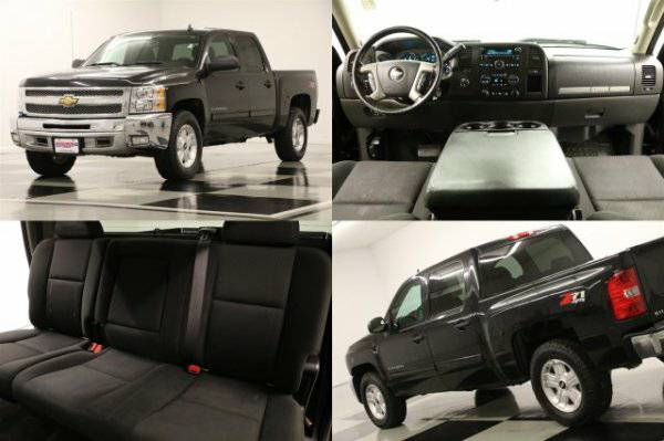 *SILVERADO 1500 CREW 4X4 - 5.3L V8* 2012 Chevy *CAMERA - Z71 OFF ROAD*