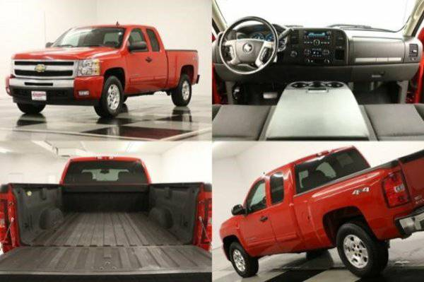 5.3L V8- SILVERADO 1500 4WD* 2011 Chevy *BLUETOOTH- CLEAN HISTORY*