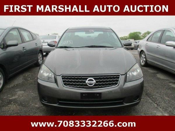 2006 Nissan Altima 2.5 4dr Sedan - First Marshall Auto Auction