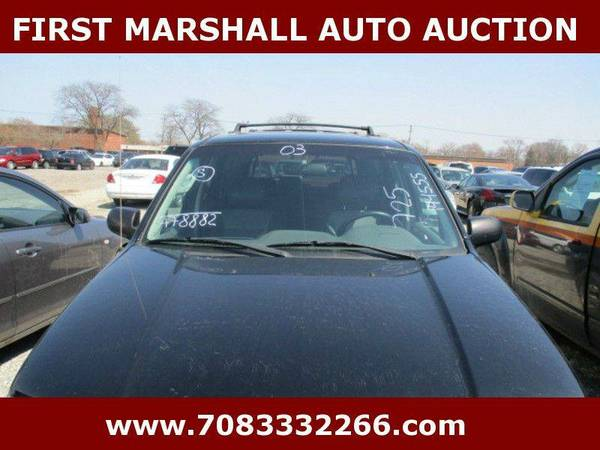 2003 Ford Escape XLT Popular 2 - First Marshall Auto Auction