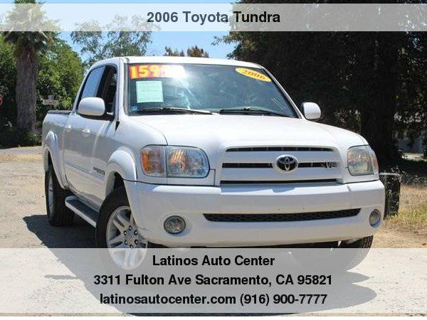 2006 Toyota Tundra Limited Clean Carfax