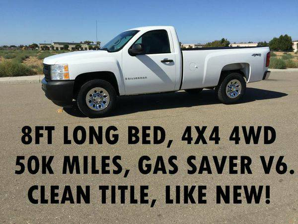 2009 *CHEVROLET* *SILVERADO* *1500* LONG BED 4X4 - LOW MILEAGE TRUCKS!