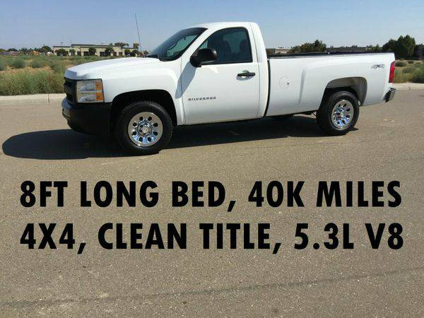 2009 *CHEVROLET* *SILVERADO* *1500* REG CAB LONG BED - LOW MILEAGE...