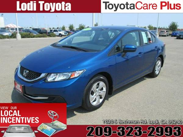 2014 HONDA CIVIC AUTOMATIC (19XFB2F53EE230066)