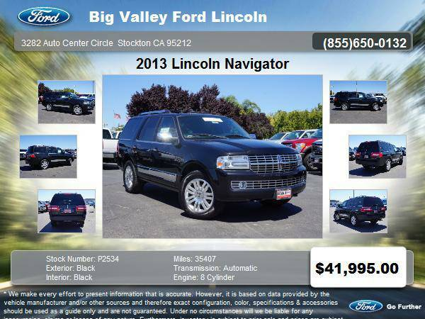 2013 Lincoln Navigator 4x2 Base 4dr SUV 4DR 2WD
