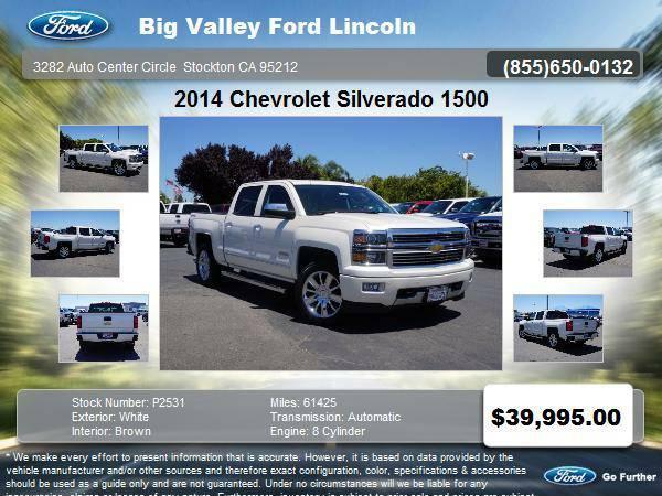 2014 Chevrolet Silverado 1500 4x4 High Country 4dr Crew Cab 5.8 ft....