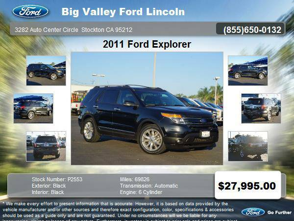 2011 Ford Explorer AWD Limited 4dr SUV LIMITED