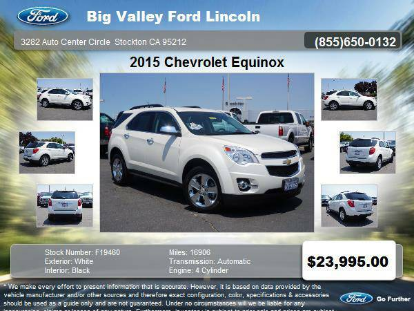 2015 Chevrolet Equinox LT 4dr SUV w/2LT LT