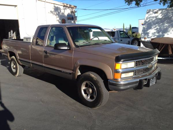 1996 Chevy 2500 extra cab, 4x4, 6.5 Turbo Diesel / Layaway avail.