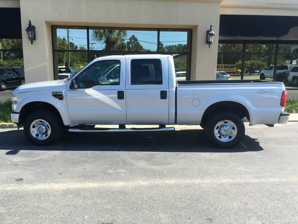 2008 FORD F-250 CREWCAB 4X4 XLT PACKAGE 6.4 LITER TURBO DIESEL !!!!!!!