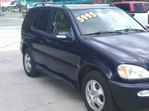 2003 Mercedes Benz ML320 SUV 100% Financing Available