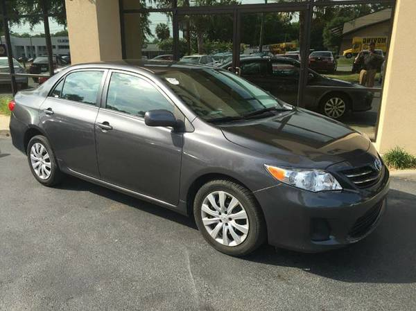 2013 TOYOTA COROLLA LE PACKAGE WITH ONLY61K MILES