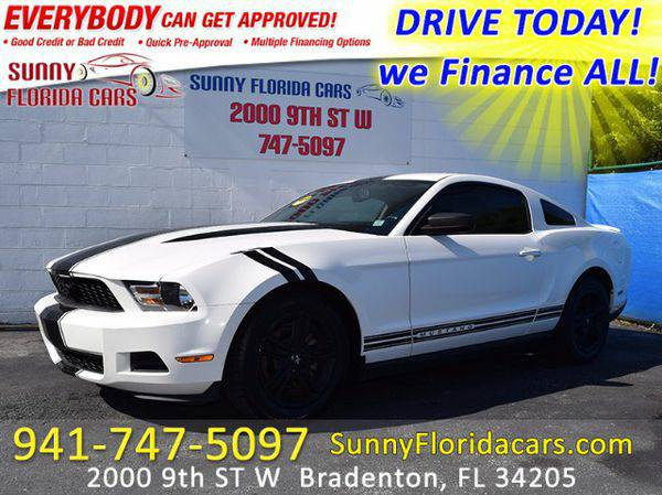 2010 *Ford* *Mustang* V6 Coupe - WE FINANCE ALL - EVERY ONE RIDES