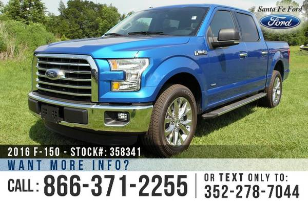 2016 Ford F150 XLT * Ford F150 * F-150 Truck * SAVE $8,000 off MSRP! *