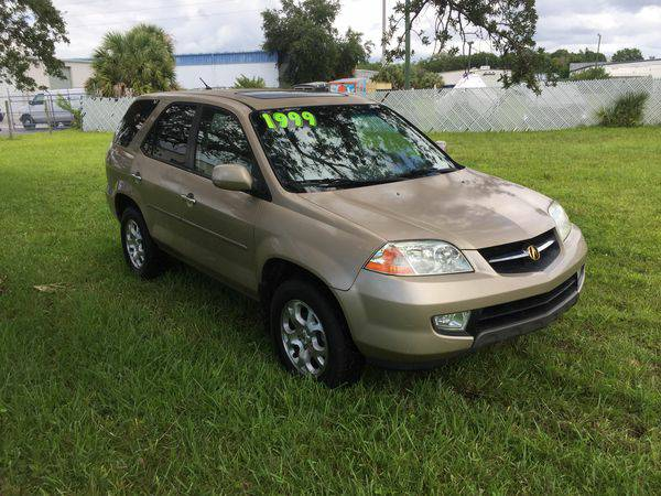 2001 *Acura* *MDX* 4WD 4dr SUV (3.5L 6cyl 5A) -GOOD or Bad...