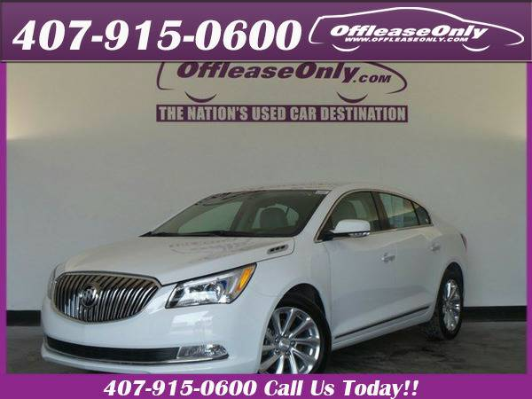 *2016* *Buick* *Lacrosse* *Leather Fwd*