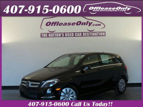 *2014* *Mercedes-benz* *B-class* *Electric Drive Hatchback Fwd*