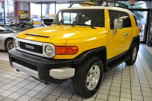 2007 *Toyota* *FJ* *Cruiser* SUV GOOD AND BAD CREDIT FINCING