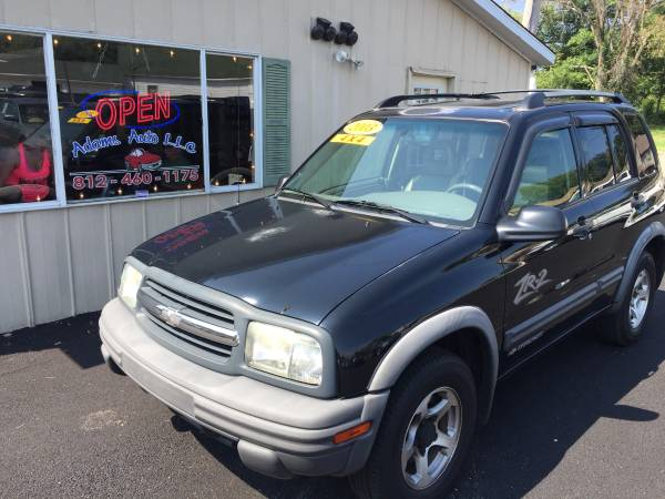 2003 Chevrolet Tracker 117288 miles BLACK