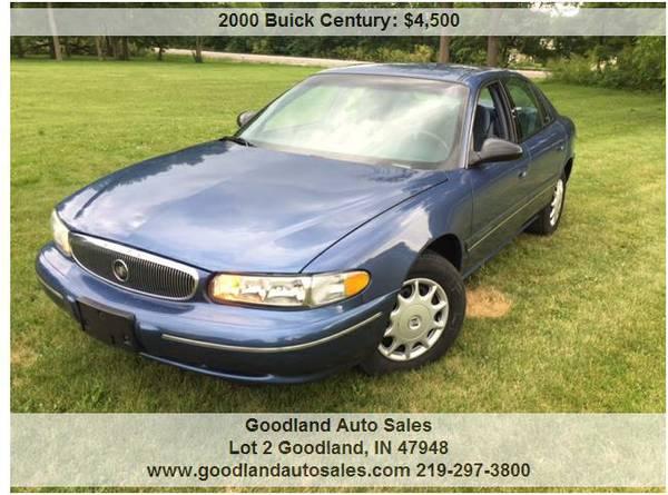 2000 Buick Century 66,500 Miles.