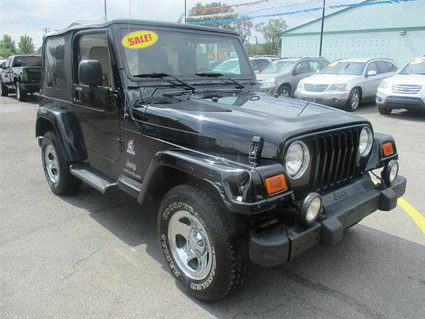 2003 *Jeep* *Wrangler* X *$499 Down Drives Today!*