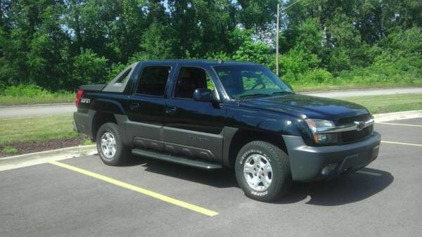 2003 CHEVROLET AVALANCHE 1500 BAD CREDIT OK!!!