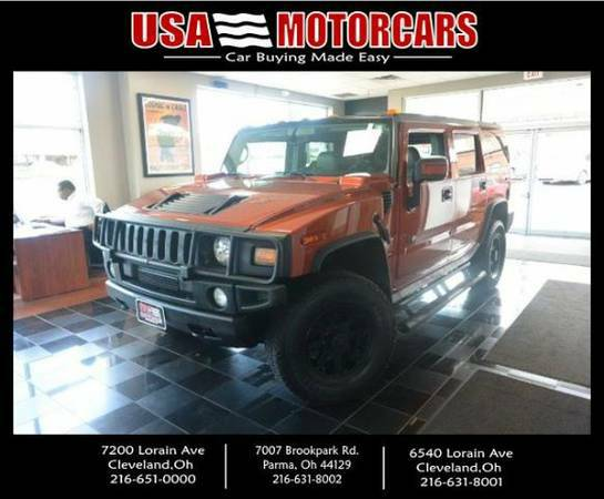 ***Price Reduced***2003 HUMMER H2 SPORT UTILITY BAD CREDIT OK!!